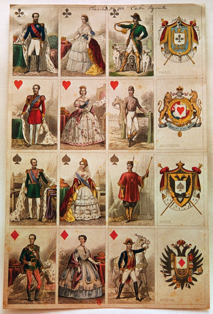 18 Century French Playing Cards